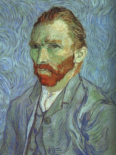 Self Portrait at Saint-Rémy by Vincent van Gogh