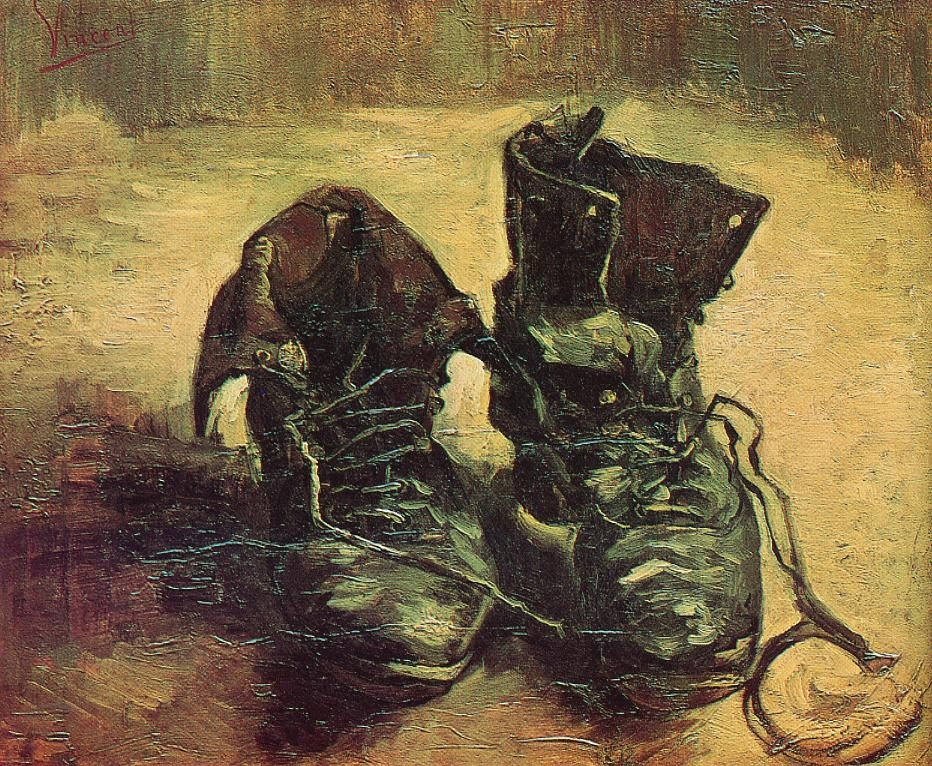 A Pair of Shoes by Vincent van Gogh