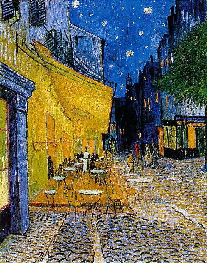 Cafe Terrace on the Place du Forum by Vincent van Gogh