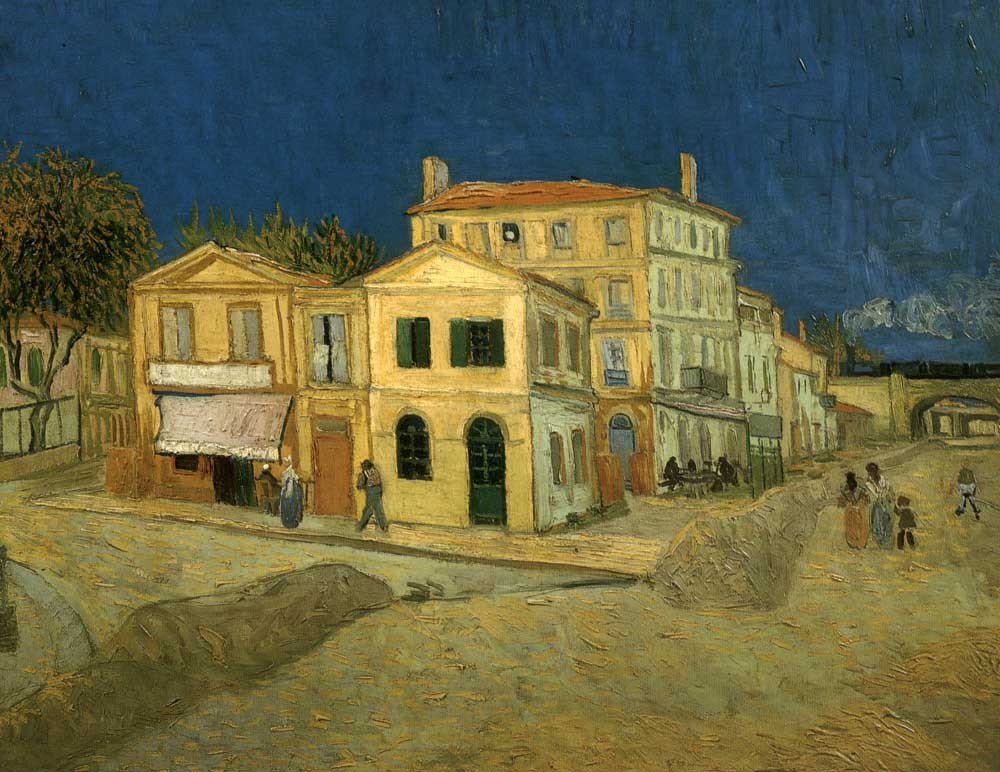 Vincent's House in Arles (The Yellow House) by Vincent van Gogh
