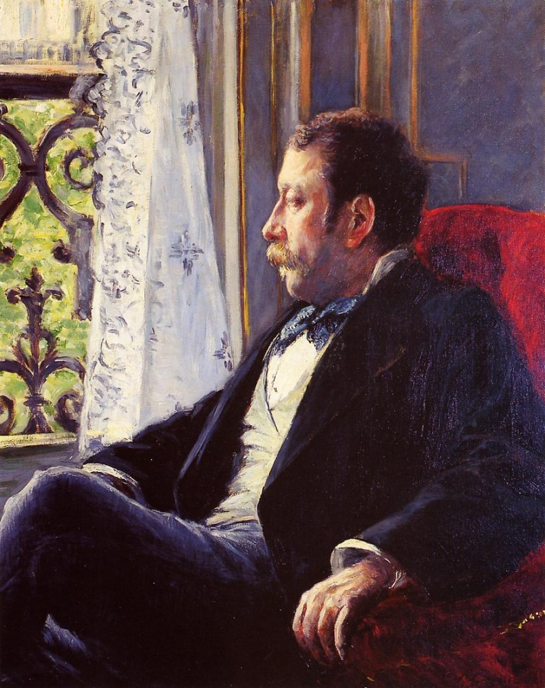 Portrait of a Man by Gustave Caillebotte