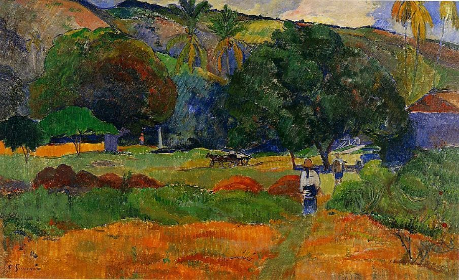 The Little Valley by Eugène Henri Paul Gauguin