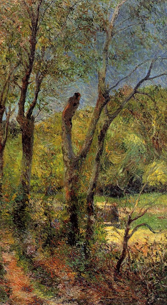 Willows by Eugène Henri Paul Gauguin