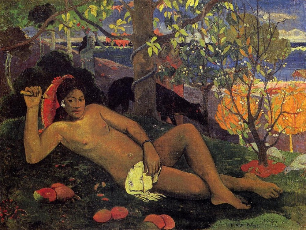 The King's Wife by Eugène Henri Paul Gauguin