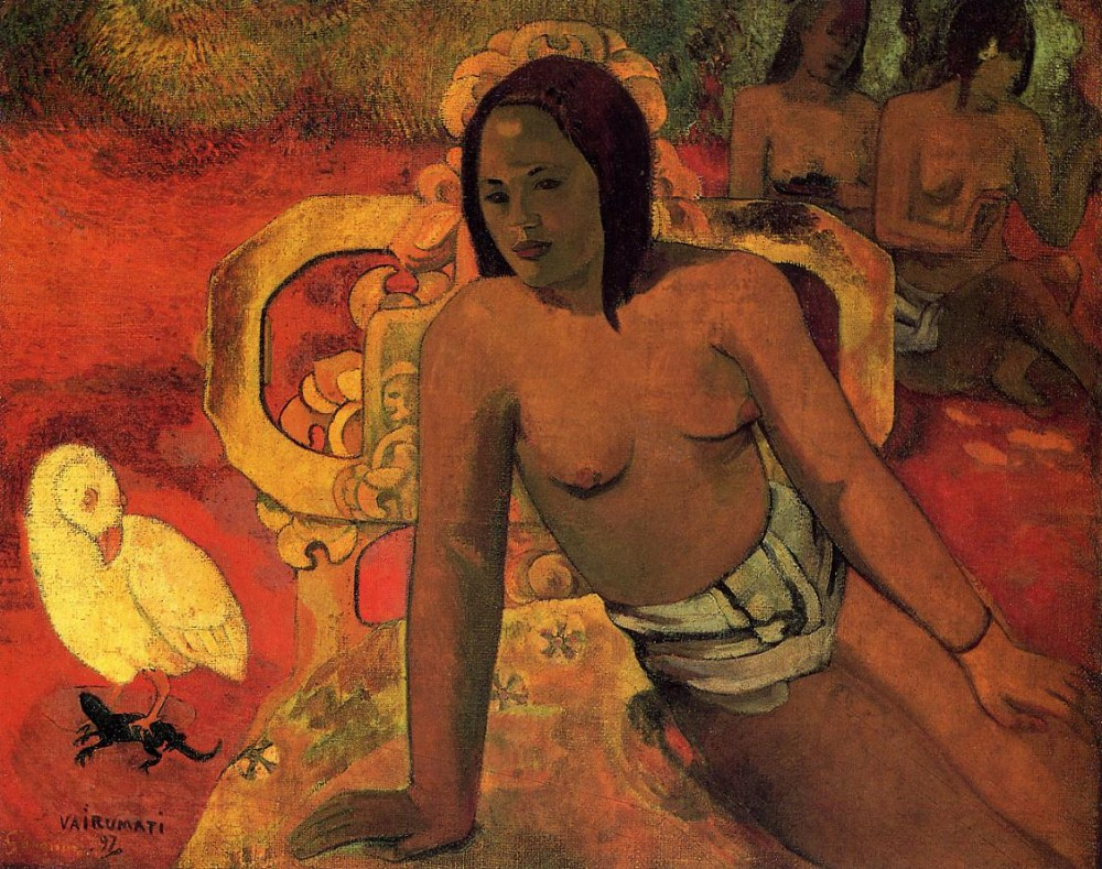 Vairumati by Eugène Henri Paul Gauguin