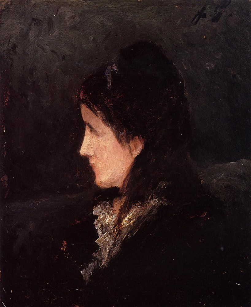 Portrait Of Ingeborg Thaulow by Eugène Henri Paul Gauguin