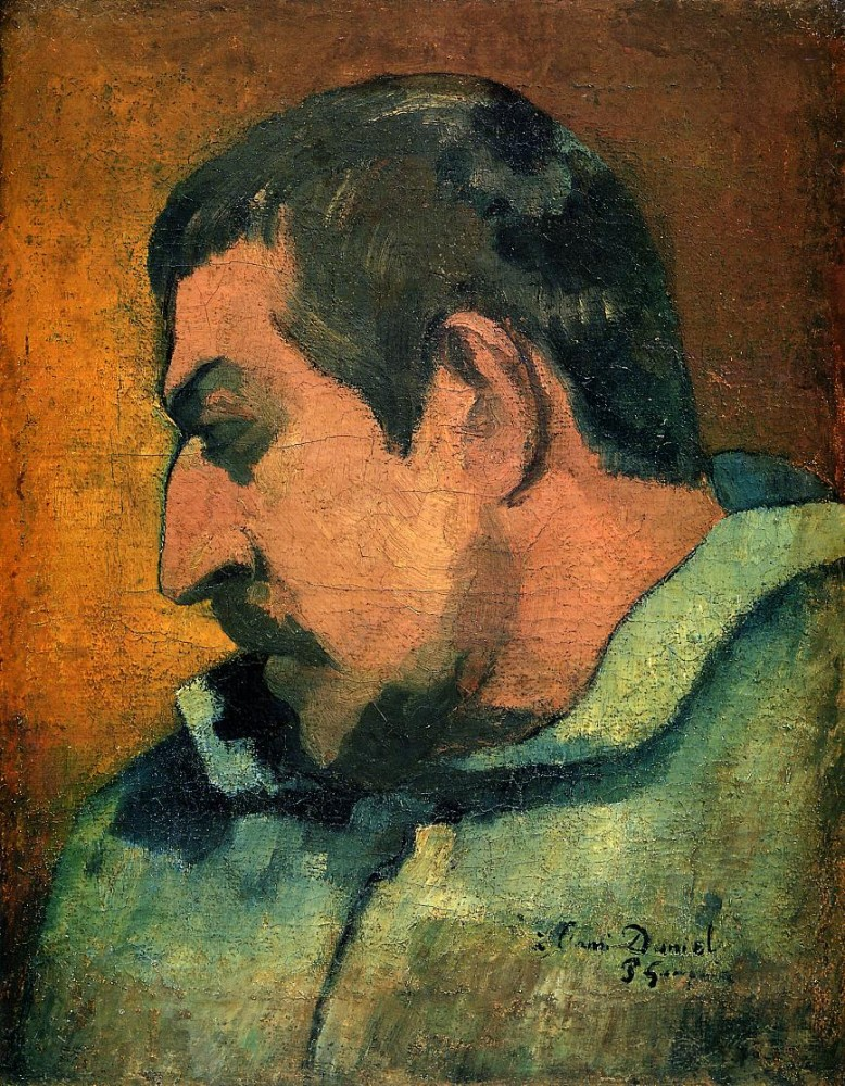 Self Portrait by Eugène Henri Paul Gauguin