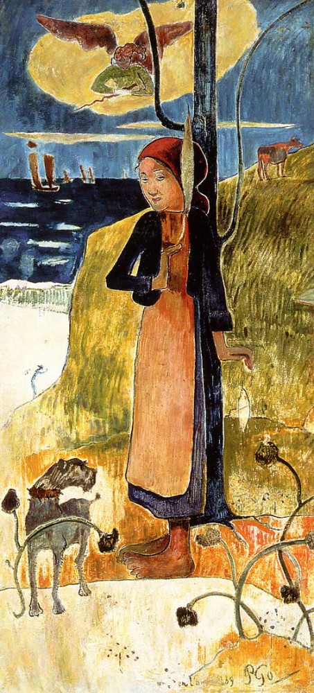 Joan Of Arc by Eugène Henri Paul Gauguin