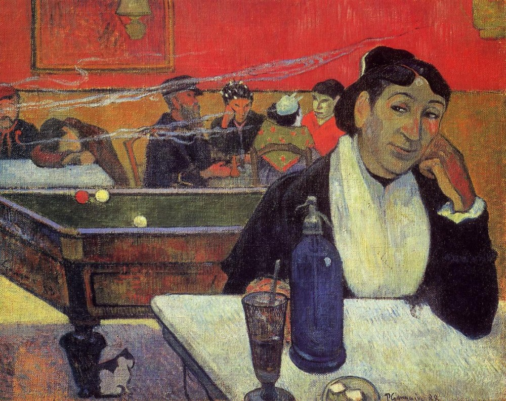 Night Cafe At Arles by Eugène Henri Paul Gauguin