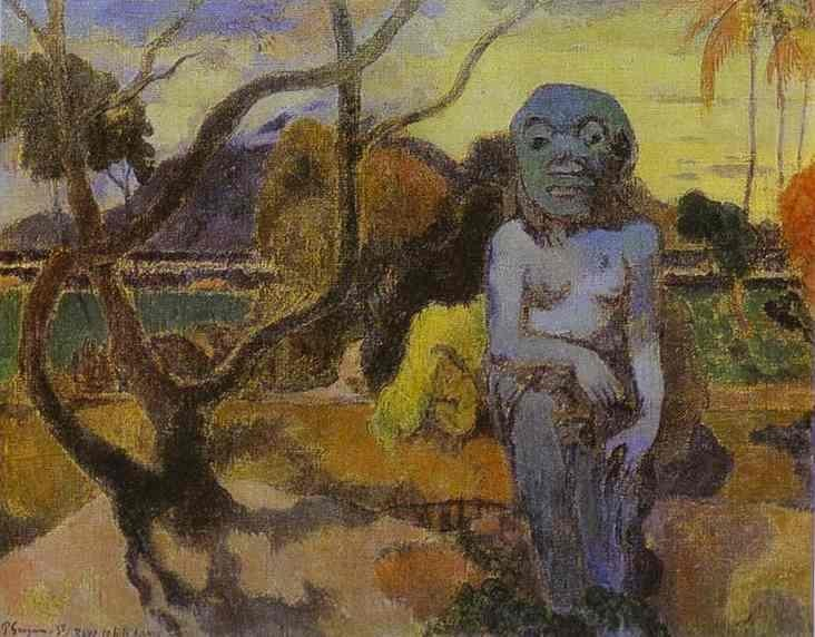 The Idol by Eugène Henri Paul Gauguin
