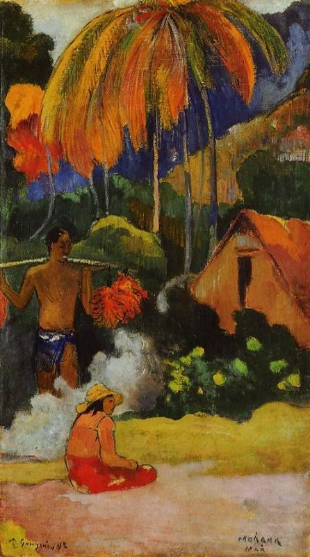 The Moment Of Truth II by Eugène Henri Paul Gauguin