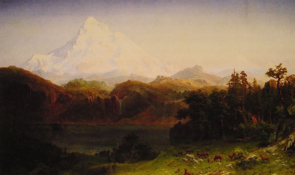 Mount Hood by Albert Bierstadt