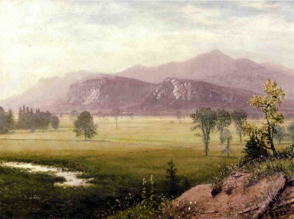 Conway Meadows New Hampshire by Albert Bierstadt