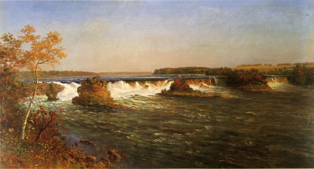 Falls of St. Anthony by Albert Bierstadt