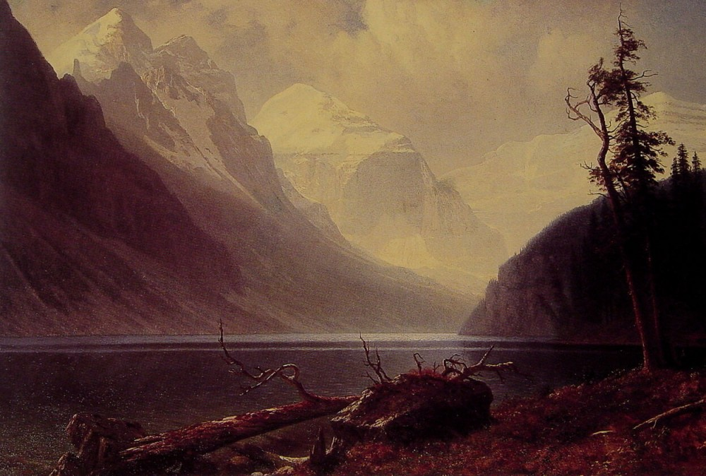 Lake Louise by Albert Bierstadt