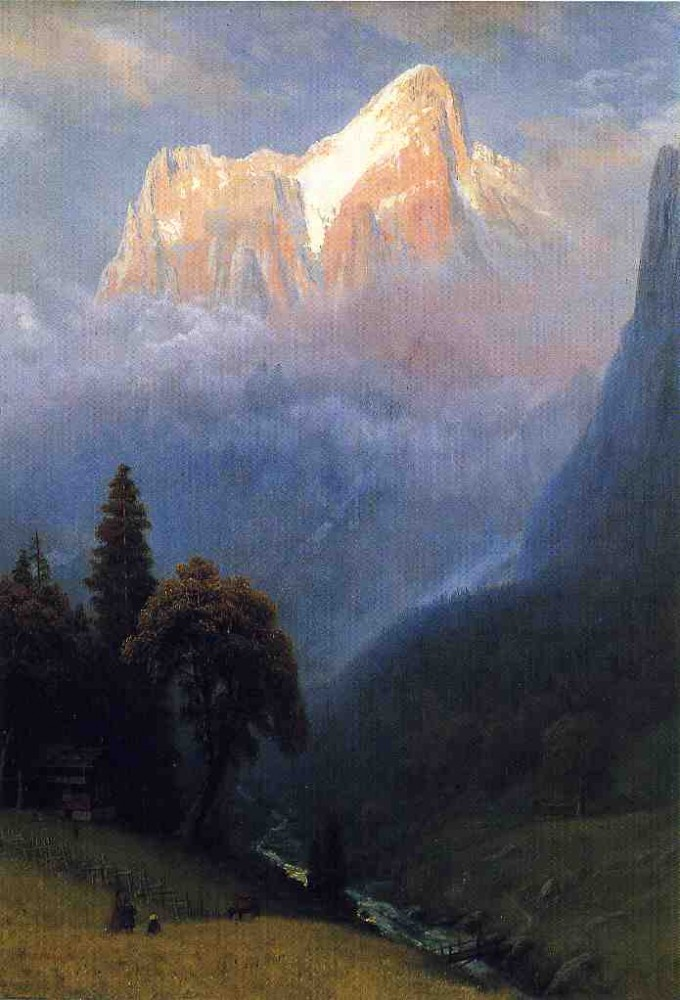 Storm Among the Alps by Albert Bierstadt