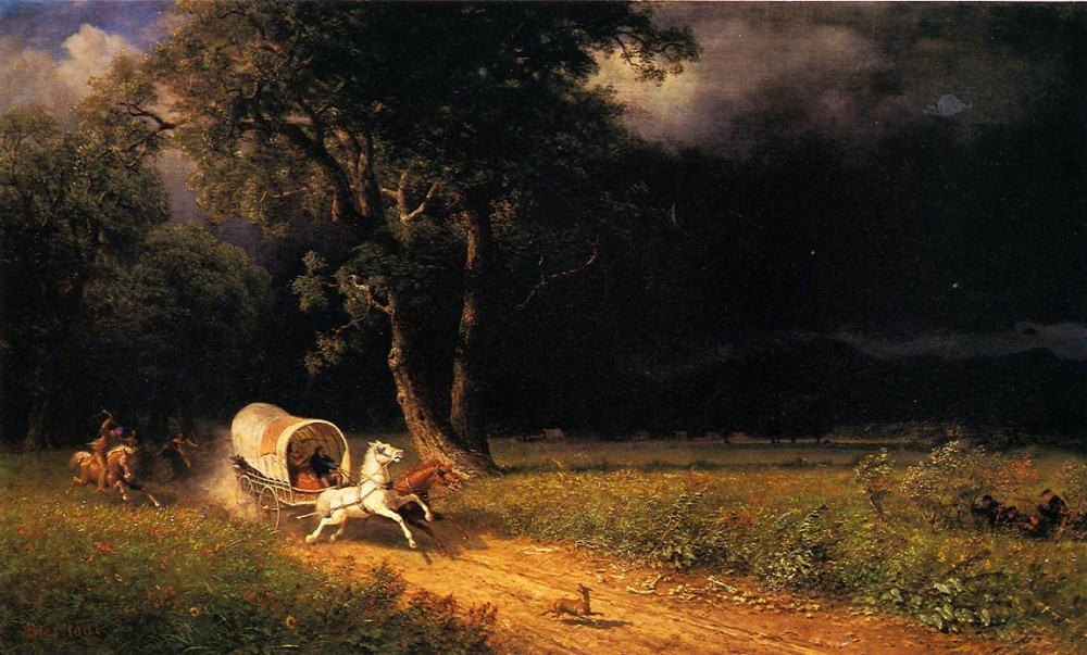 The Ambush by Albert Bierstadt