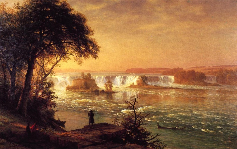 The Falls of St. Anthony by Albert Bierstadt