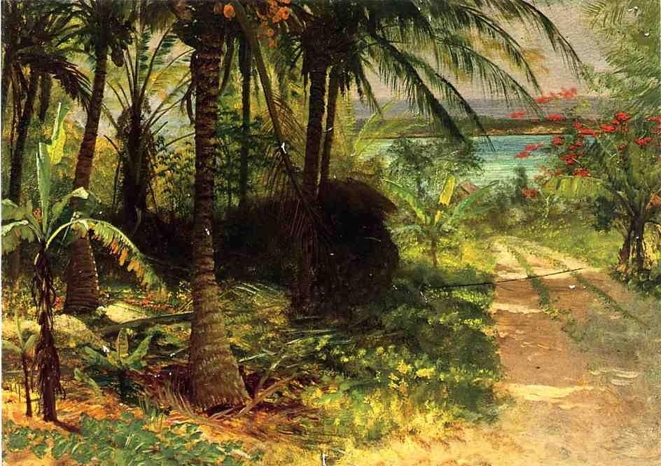 Tropical Landscape by Albert Bierstadt