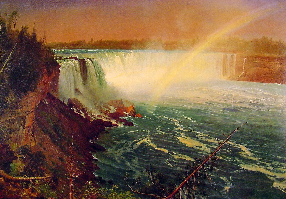 Niagra by Albert Bierstadt