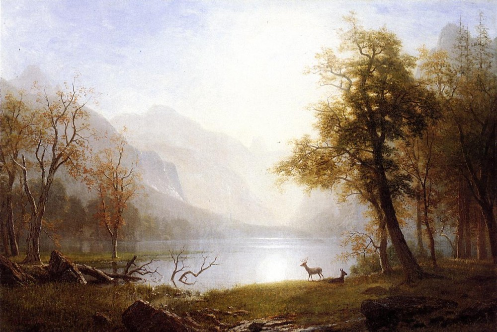 Valley in Kings Canyon by Albert Bierstadt