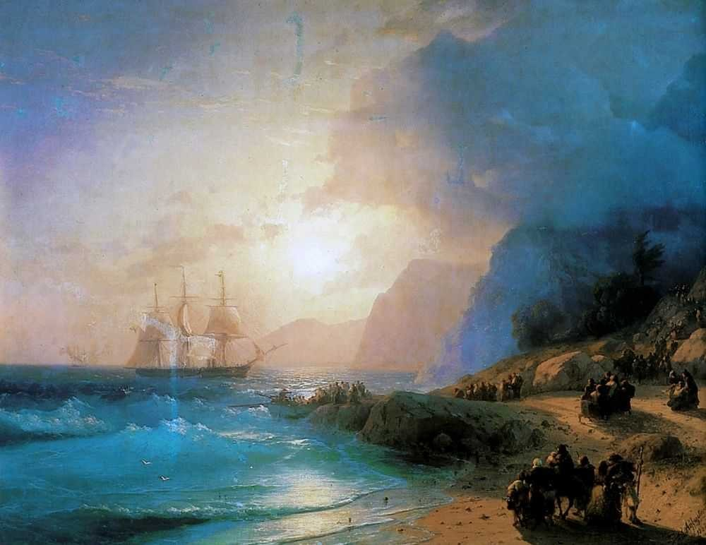 On The Island Of Crete by Ivan Konstantinovich Aivazovsky