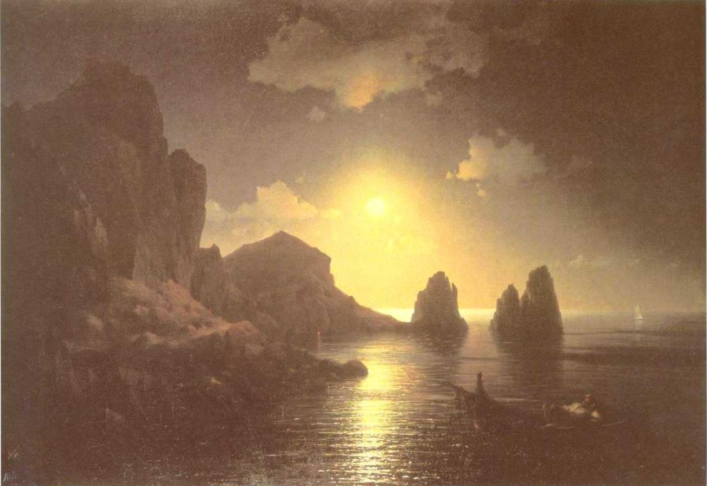 Sea View II by Ivan Konstantinovich Aivazovsky