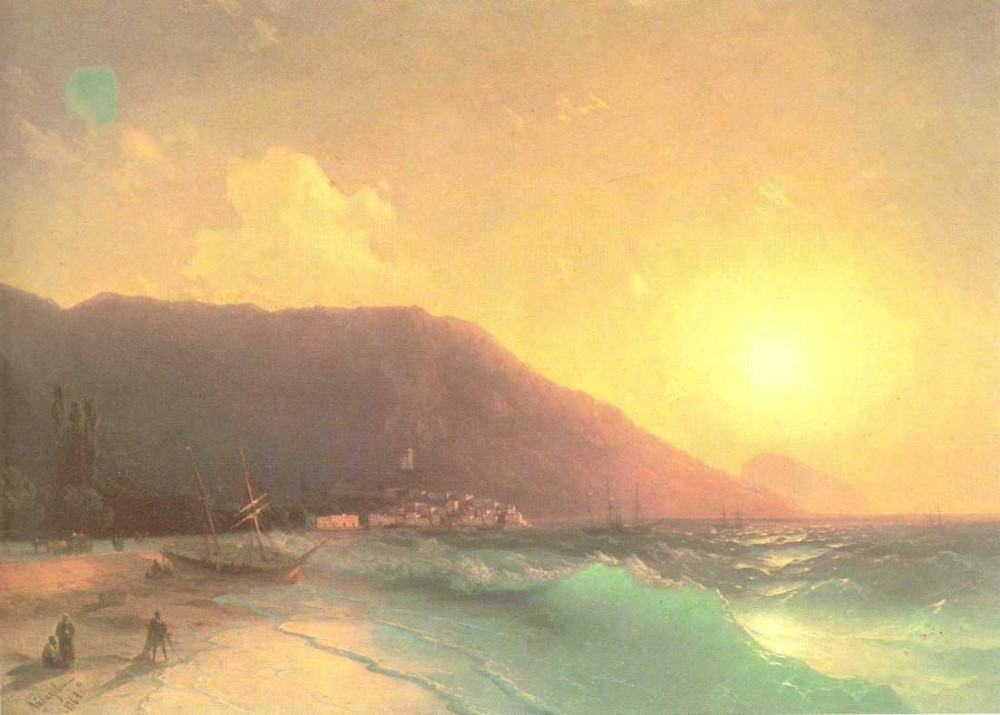 Sea View by Ivan Konstantinovich Aivazovsky