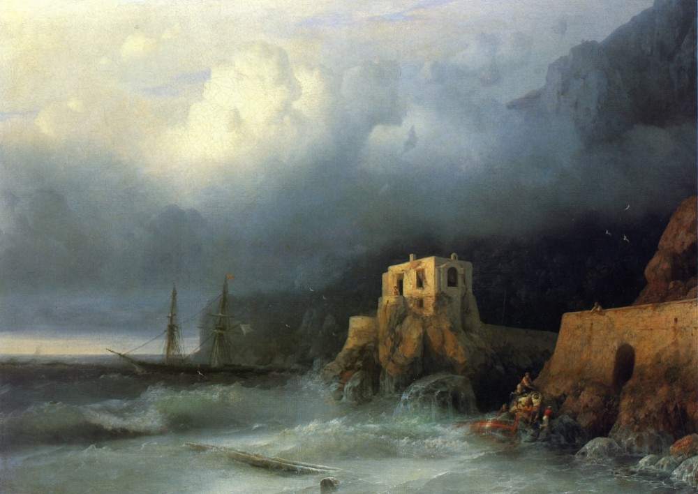 The Rescue II by Ivan Konstantinovich Aivazovsky