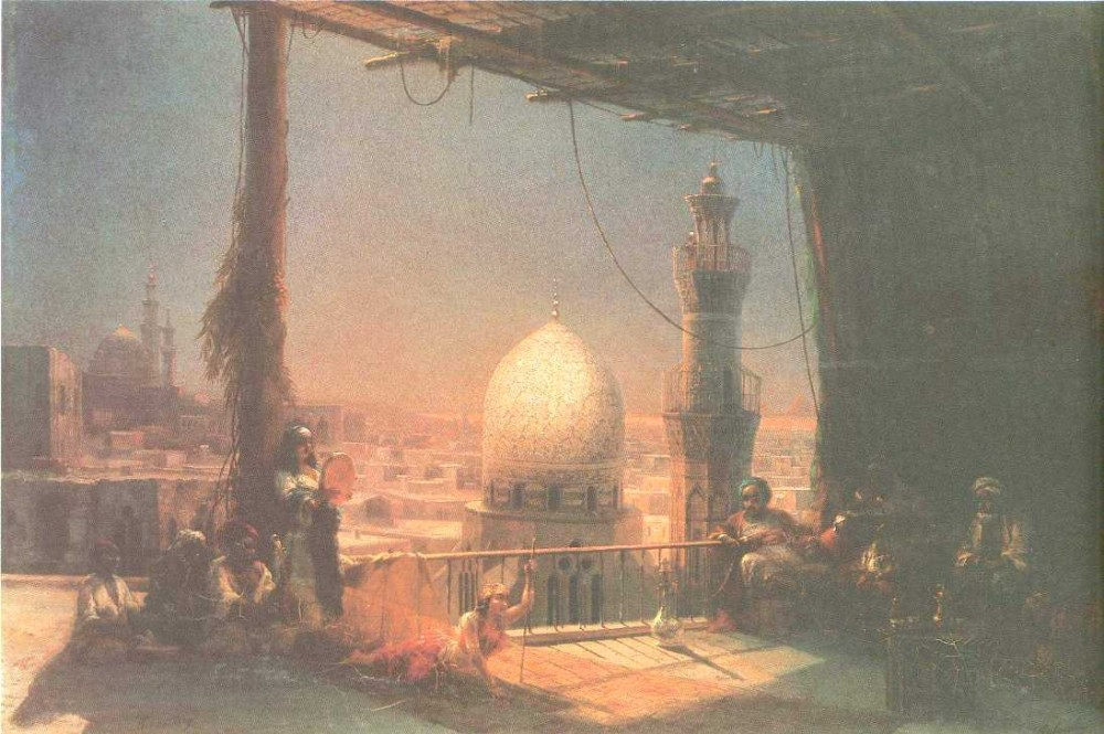 In Cairo by Ivan Konstantinovich Aivazovsky