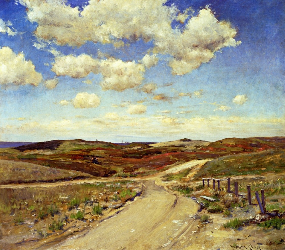 Shinnecock Hills by William Merritt Chase