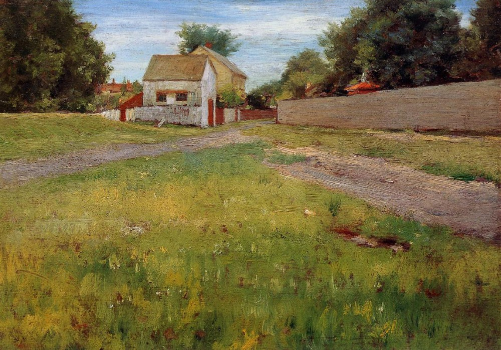 Brooklyn Landscape by William Merritt Chase