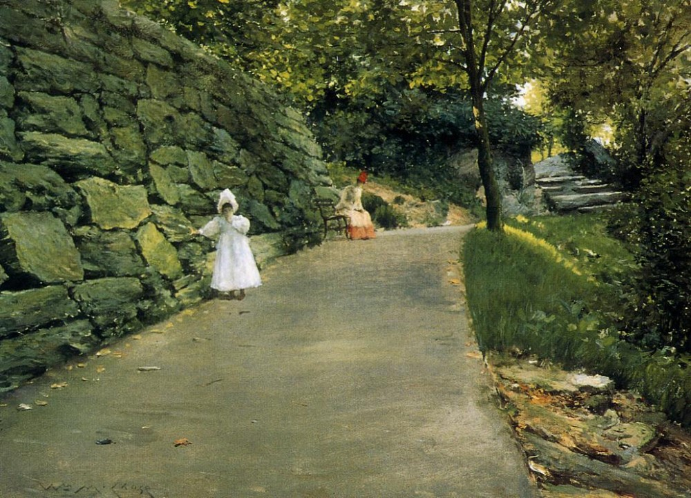 In the Park a By Path by William Merritt Chase