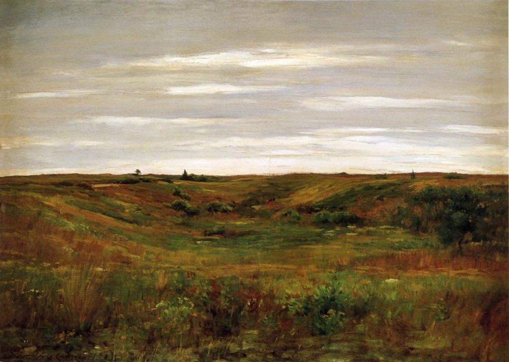 Landscape A Shinnecock Vale by William Merritt Chase