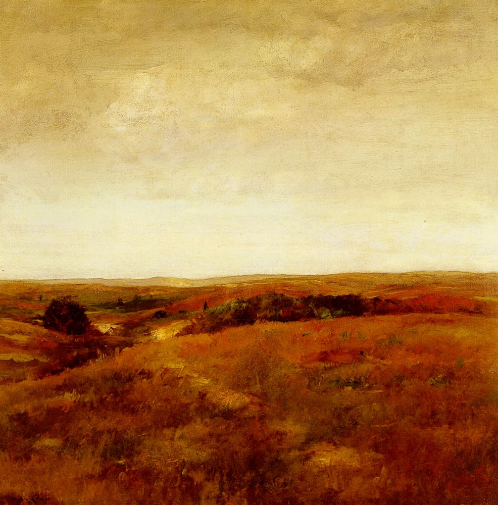 October by William Merritt Chase