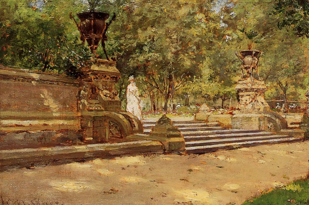 Prospect Park Brooklyn by William Merritt Chase