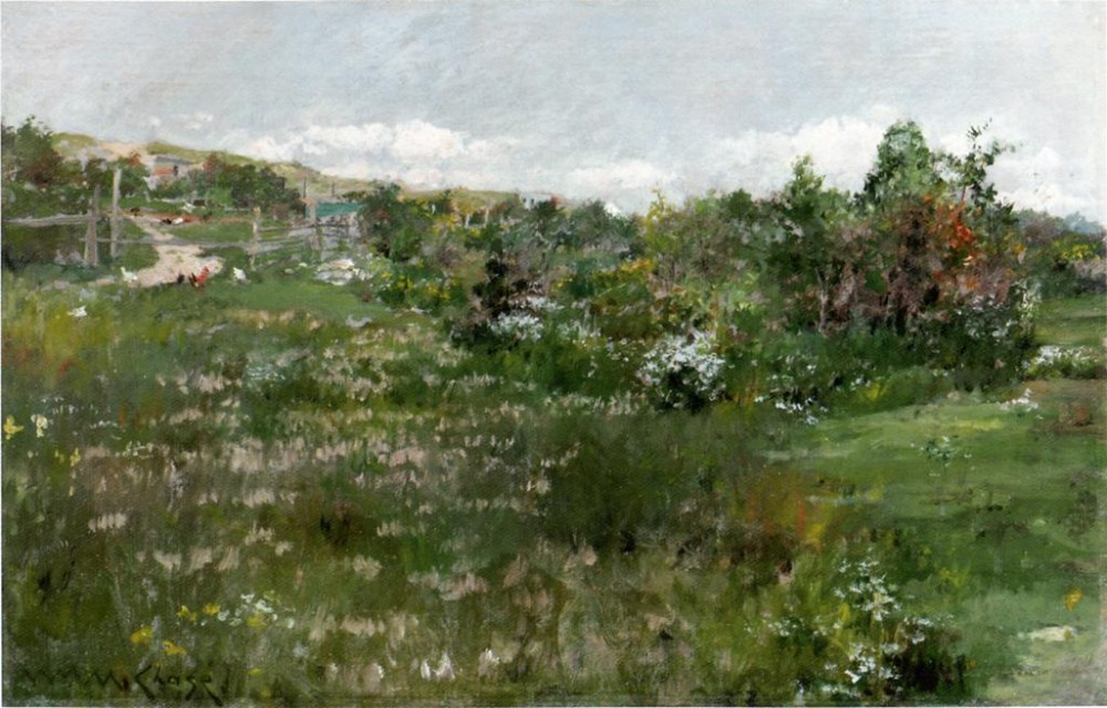 Shinnecock Landscape 3 by William Merritt Chase