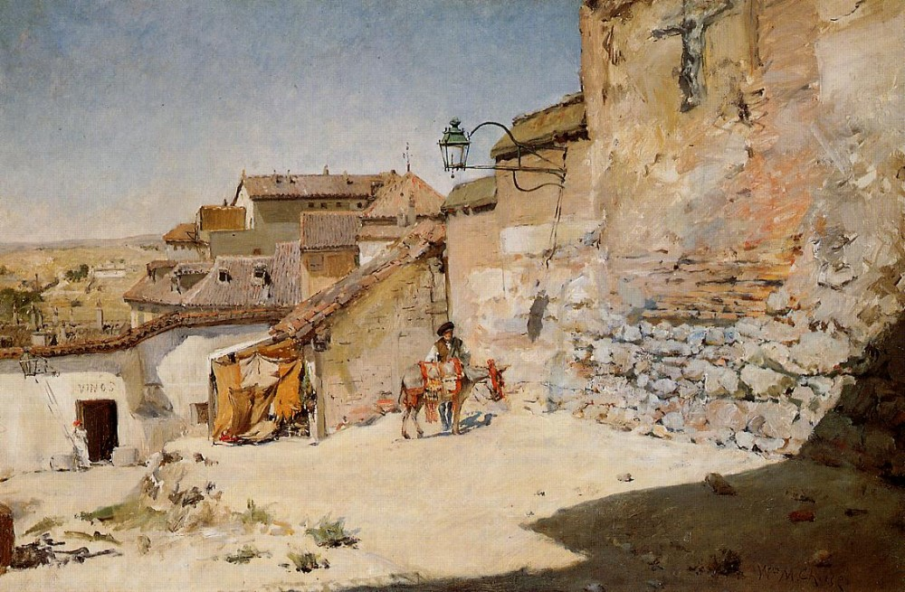 Sunny Spain by William Merritt Chase