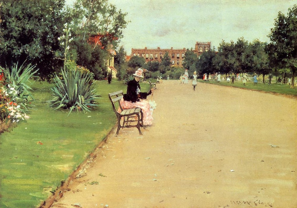 The Park by William Merritt Chase
