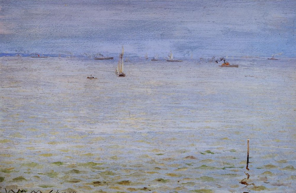 Seascape by William Merritt Chase