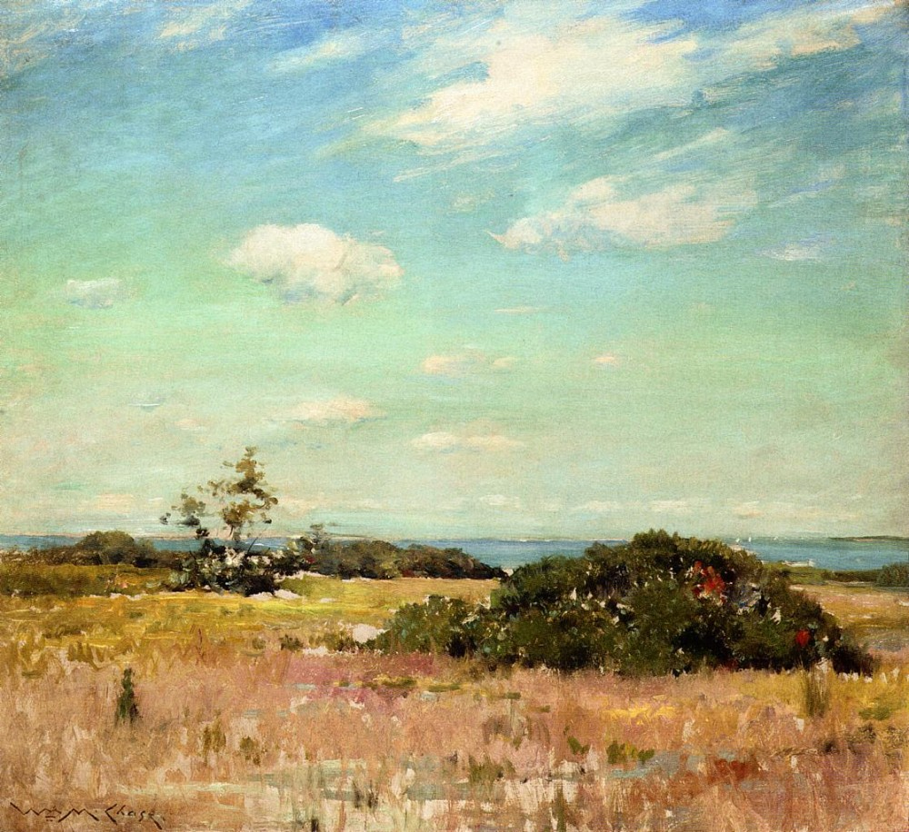 Shinnecock Hills Long Island by William Merritt Chase