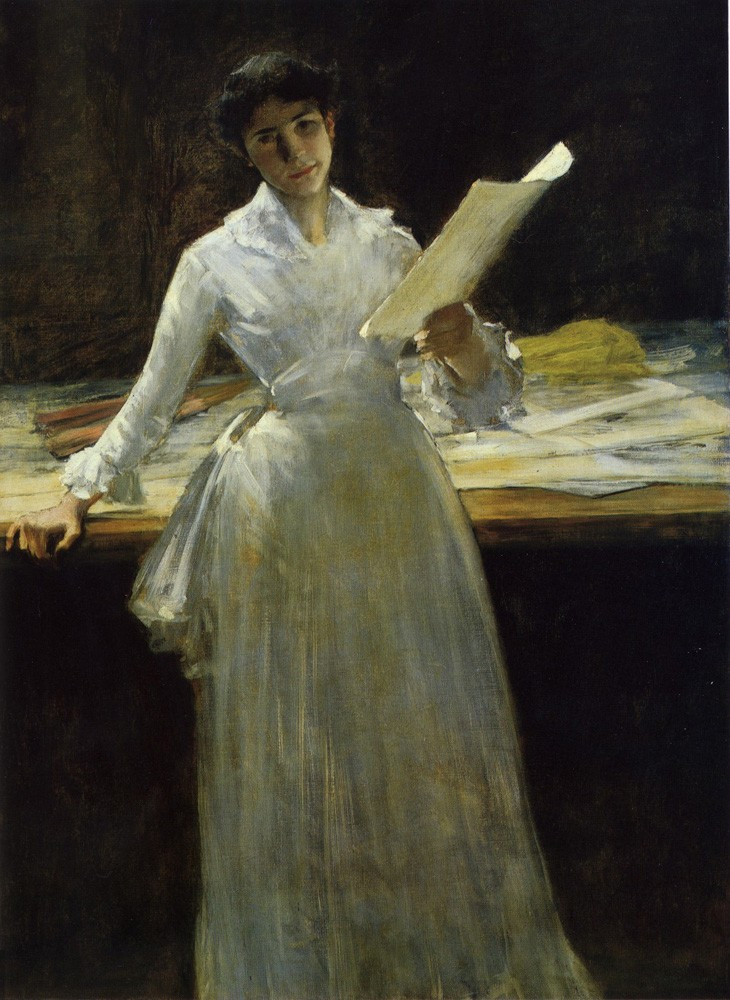 Memories by William Merritt Chase