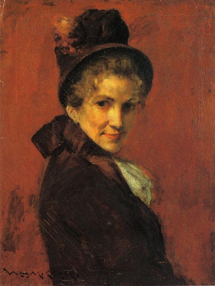 Portrait Of A Woman 3 by William Merritt Chase