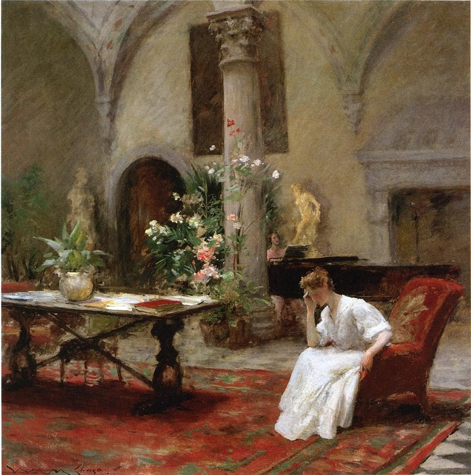 The Song by William Merritt Chase