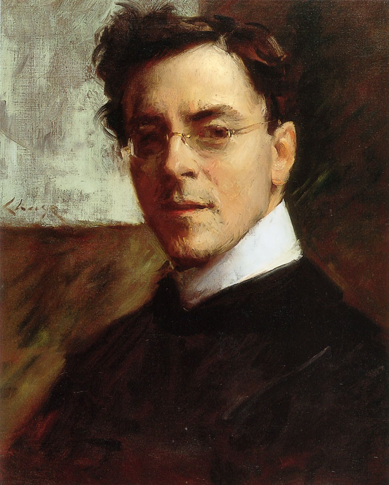 Portrait of Louis Betts by William Merritt Chase