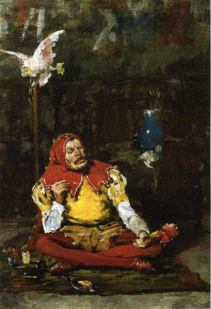 The King-s Jester by William Merritt Chase