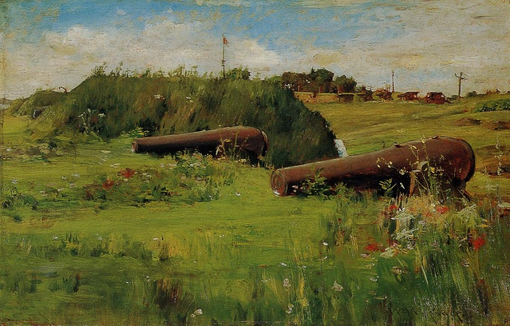 Peace Fort Hamilton by William Merritt Chase