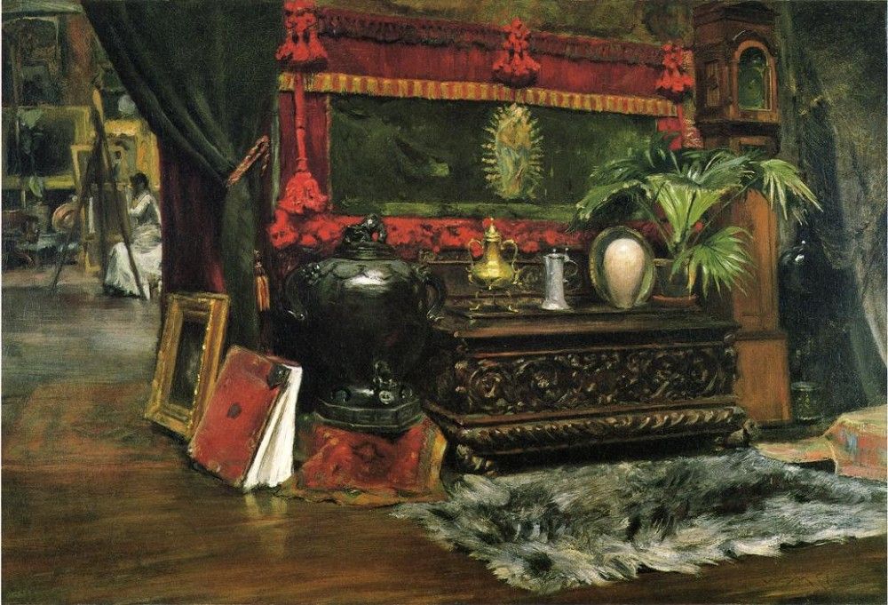 A Corner of My Studio by William Merritt Chase