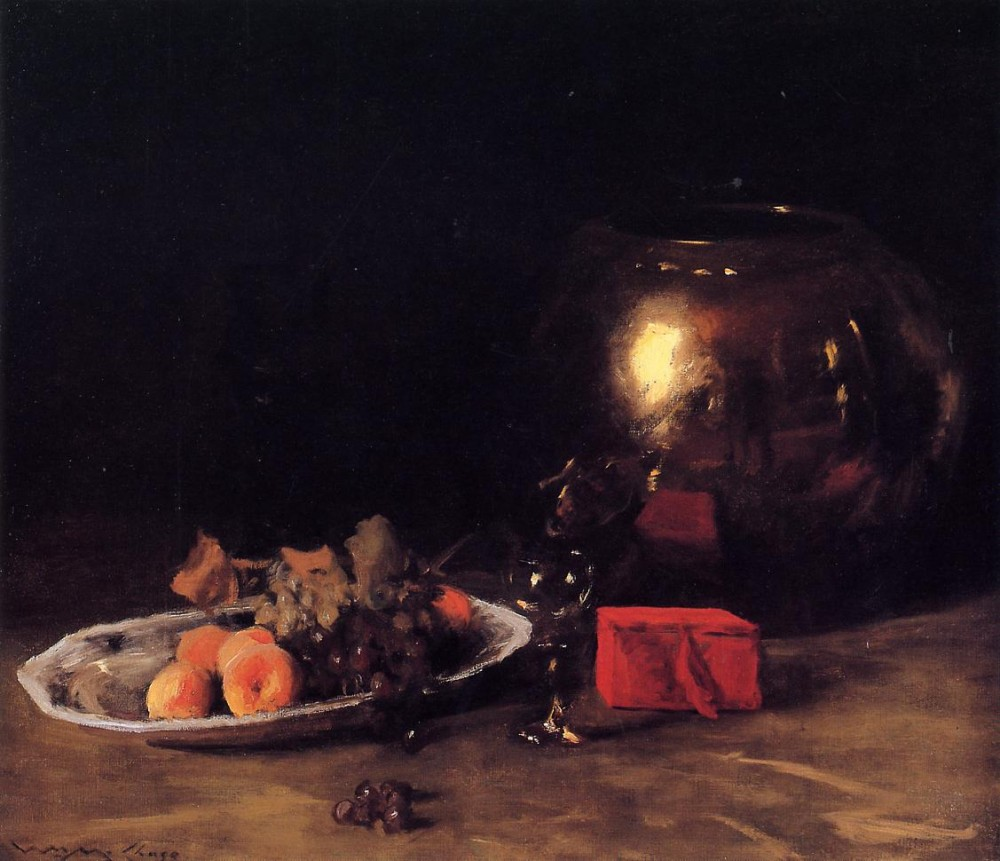 The Big Brass Bowl by William Merritt Chase