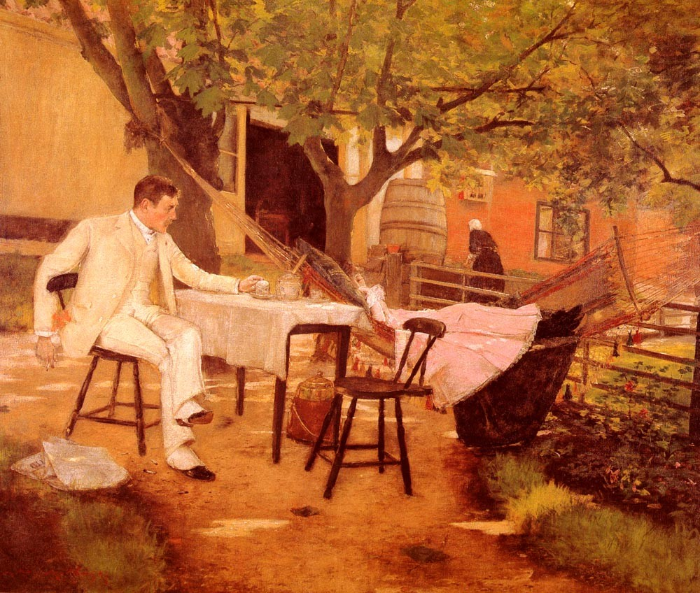 Sunlight and Shadow by William Merritt Chase